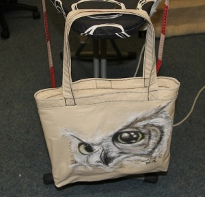 Created: 14/8/2013 Canvas Tote Bag and free hand drawn original image Artist: Selina Shapland