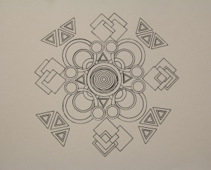 Intricate Mandala Created: 2013 Artists: Selina Shapland