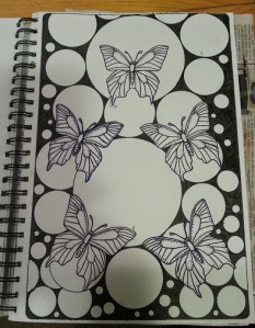 Butterfly Bliss Artist: Selina Shapland Created: 15/6/2014