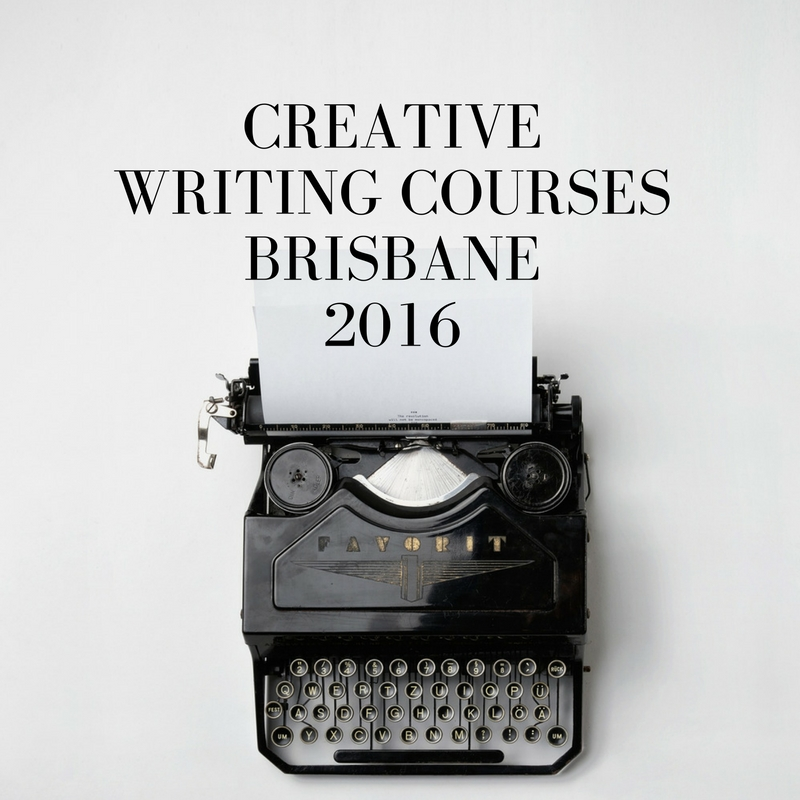 Creative writing course brisbane