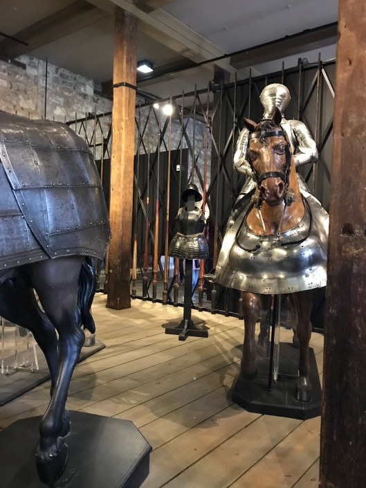 Armour at the Tower of London