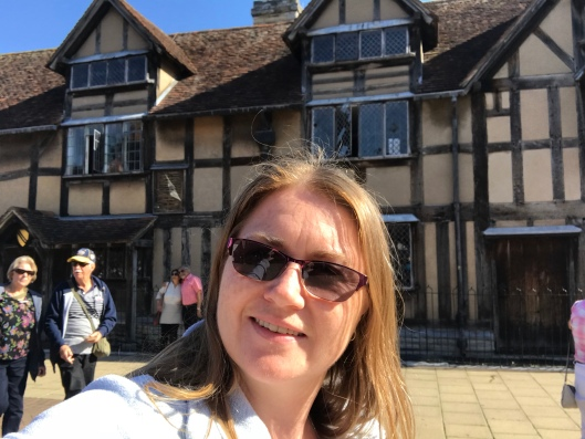 Shakespeare's house - the place where he was born - Stratford-Upon-Avon