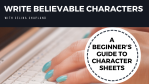 Build and Write Believable Characters