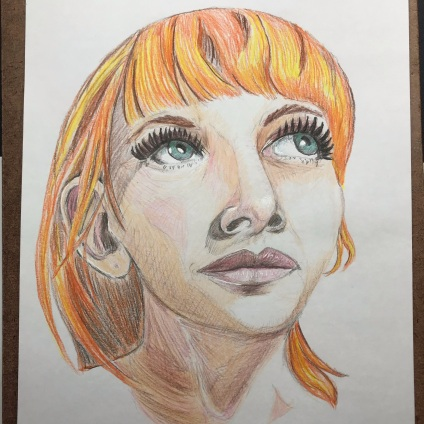 Portrait 6/100 of woman with red hair