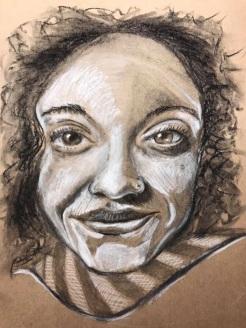 Portrait37of100Charcoal&Bocpen